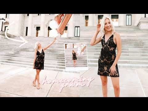 junior year homecoming get ready with me 2018 thumbnail