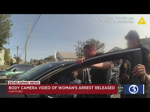 VIDEO: Hartford Police Release Body Camera Video After Woman's Arrest Goes Viral On Social Media