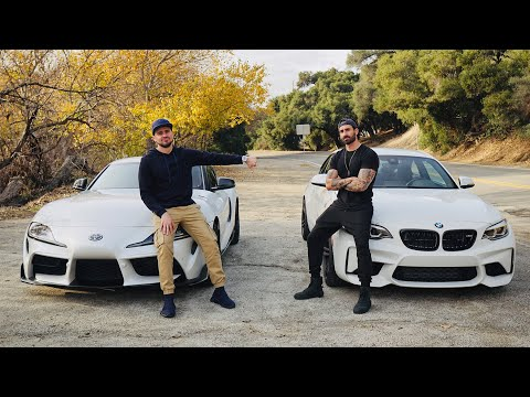 BMW M2 VS Toyota Supra!