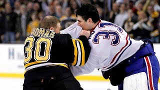 TOP 10 Greatest Goalie Fights Of All Time (HD) VINTAGE ERA