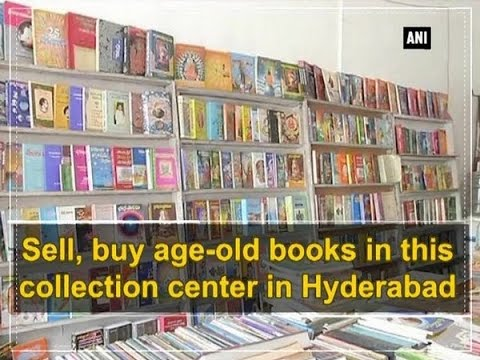 Sell, buy age-old books in this collection center in Hyderabad - ANI #News