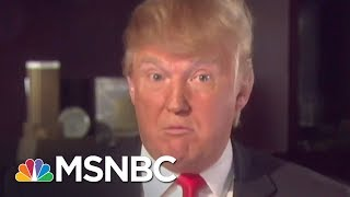 Donald Trump Attacks Obama Like He's 'Obsessed With His Girlfriend's Ex' | The 11th Hour | MSNBC