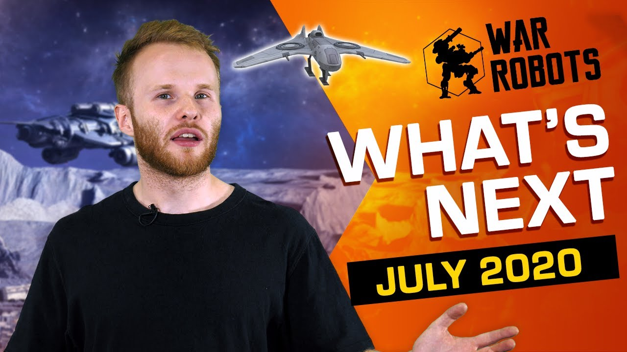 WHAT'S NEXT in War Robots | DRONES??? More customization! (July 2020)
