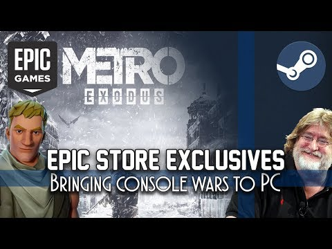 The Epic Monopoly - How Epic Store Exclusives are bringing console wars to PC