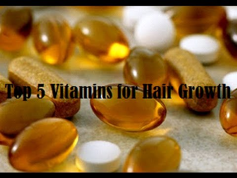 Top 5 Vitamins for Hair Growth