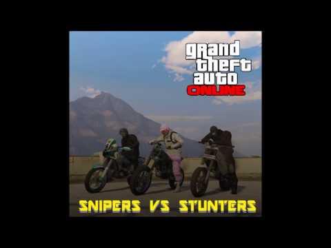 Crazy Irish Gamers Play GTA Online Snipers Vs Stunters EP 1