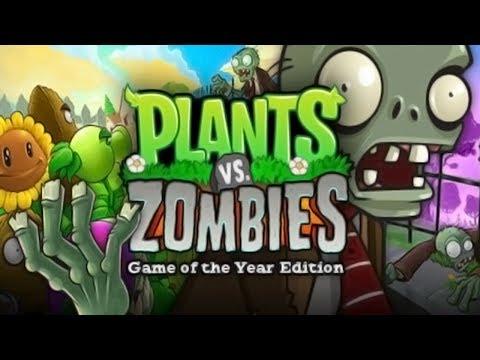 Plants Vs. Zombies [PC] FULL Walkthrough - Gameplay