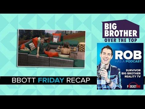 RHAP Big Brother OTT Recap   Friday September 30th