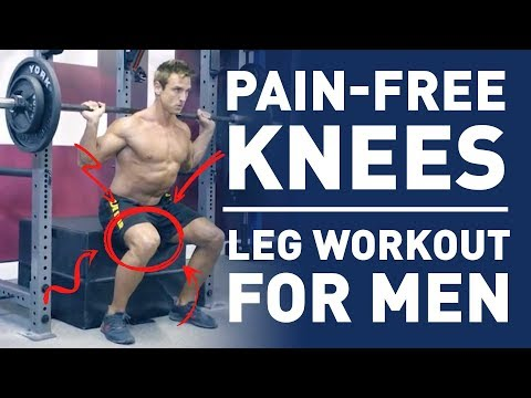 Pain-Free Knees Leg Workout For Men