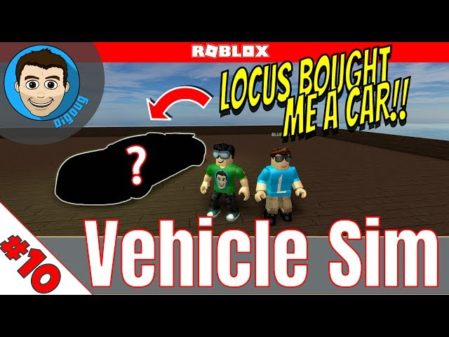 Roblox: Vehicle Simulator : Ep 10 : Blue Locus Bought me a Car!!