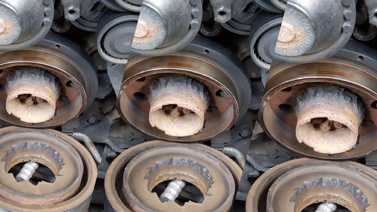 bmw crankshaft pulley replacement