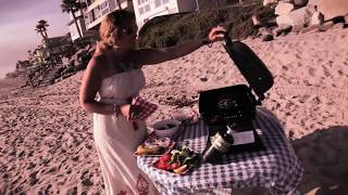 Grilled Teriyaki Salmon On The Beach By Waves N' Craves