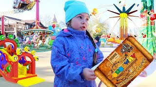 Best CHILDREN princess PARK  | vlog, SUPER Park for children | Princess and a treasure map