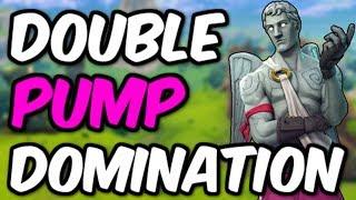 Fortnite Coaching - DOUBLE PUMP DOMINATION!! 17K Win (Fortnite Analyzed #1)