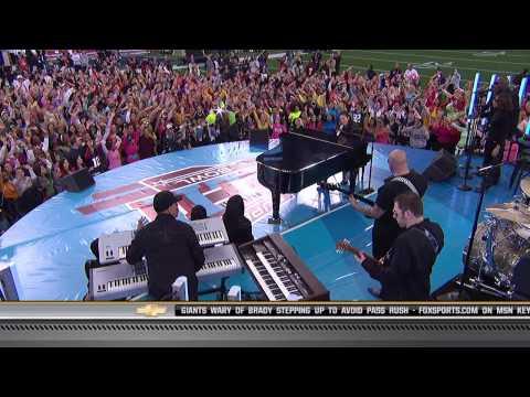 Alicia Keys - Medley @ Superbowl Pregame Show 2008