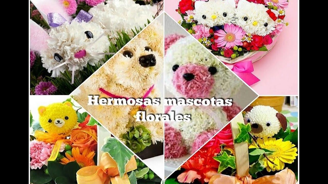 Arreglos Florales Para Mamá 15 Hermosos Arreglos Con Mascotas Florales Ronycreativa