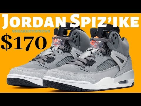 """The Jordan Spiz'ike Gets Another Spin On """"Cool Grey"""""""