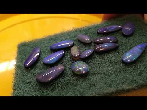 Австралийский опал, как из щебня получается драгоценный камень
