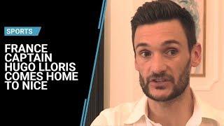 France captain Hugo Lloris comes home to Nice