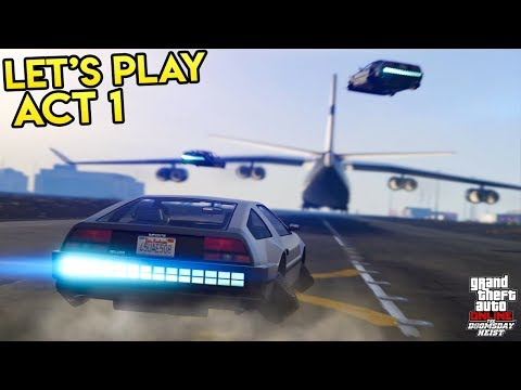 GTA Online: The Doomsday Heist Act 1 Playthrough - Stealing Deluxos, Undercover Paramedic & More