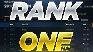 Yassuo | THE RANK ONE PLAYER IN NA