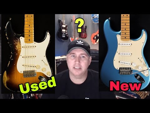 Is A Used USA Strat is better than a New MIM Strat?