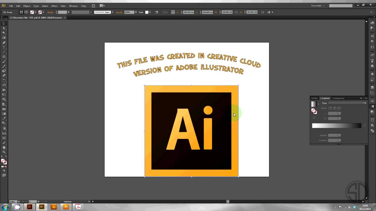 How to Open/Convert Illustrator CC files in CS6 / CS5 / CS4 / CS3