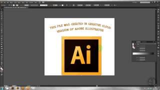 How to Open/Convert Illustrator or EPS files from CC in CS6, CS5, CS4, CS3, CS2, CS, 10