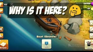 """""""BOAT UPDATE"""" - CLASH OF CLANS!   GET OVER THERE   BEYOND THE SHORE - Watch to know more!"""