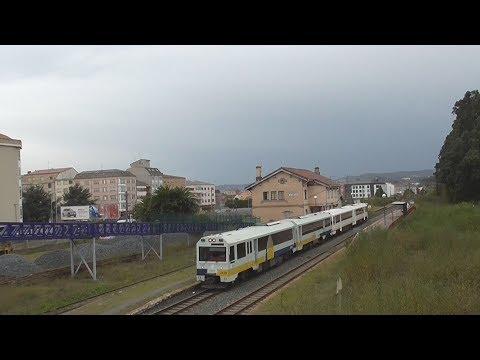 Regionales Ferrol Oviedo Ferrol con sorpresa final