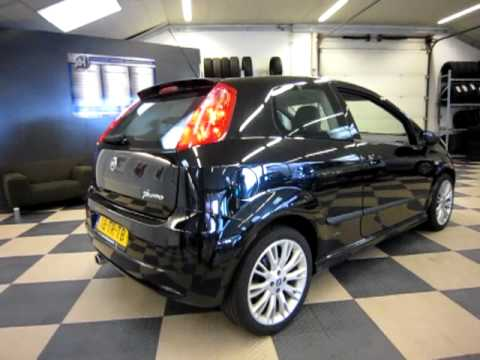 fiat grande punto 1 9 jtd 130pk 6 bak sport youtube. Black Bedroom Furniture Sets. Home Design Ideas