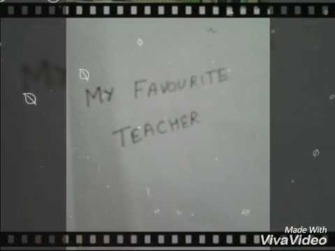 speech on my favourite teacher from class mp me essay my favourite teacher