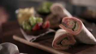 Black Forest Ham & Caramelized Apple Wrap