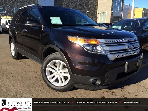 Used Brown 2013 Ford Explorer 4WD XLT Review | Airdrie Alberta
