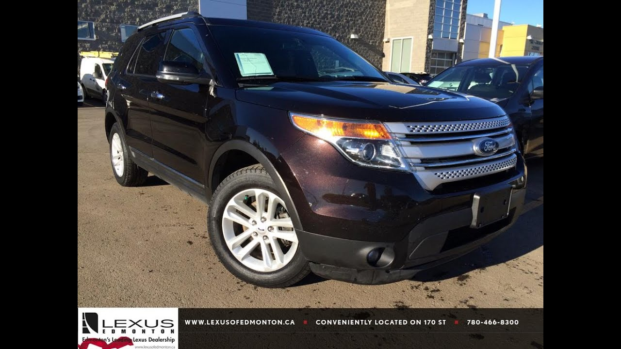 used brown 2013 ford explorer 4wd xlt review airdrie alberta youtube. Black Bedroom Furniture Sets. Home Design Ideas