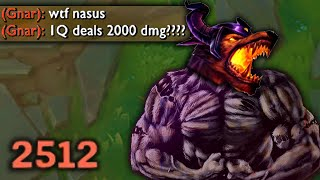 STRONGEST NASUS IN THE WORLD
