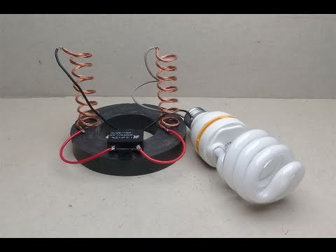 Free Energy Electricity Generator magnet With Copper , at home - New Creative Crafts