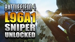 Battlefield 4 Multiplayer Gameplay - L96A1 UNLOCKED! BF4 Xbox One China Rising Gameplay