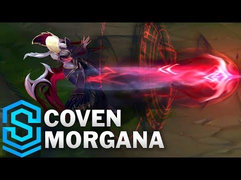 Coven Morgana Skin Spotlight - League of Legends