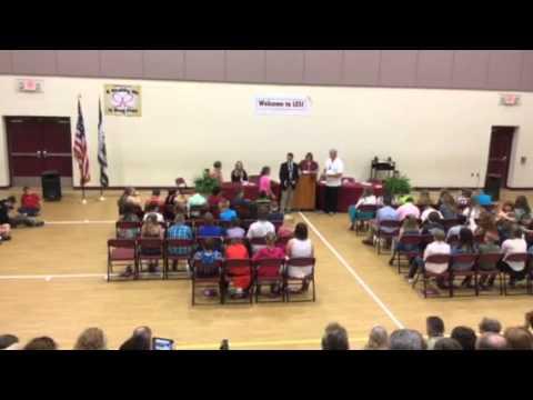 2015 Lumberport Elementary School 5th Grade Graduation Ceremony