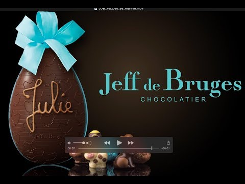 Vidéo Jeff De Bruges Pâques - Voix Off: Marilyn HERAUD