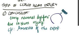 head injury part 1