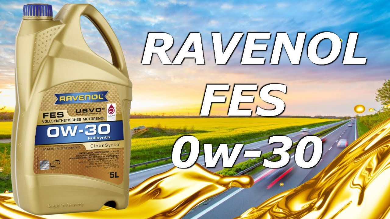 💪👌[MUY TOP]💪👌 - Aceite Motor Ravenol FES 0w30 -