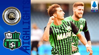 Spezia 1-4 Sassuolo | Đuričić and Caputo Net In 5-Goal Game | Serie A TIM