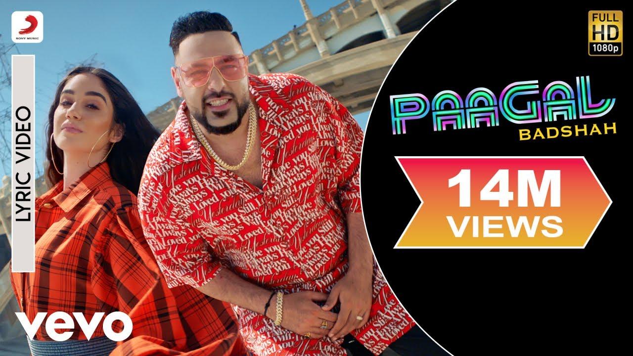Download Paagal - Official Lyric Video   Paagal   Badshah   Rose Romero
