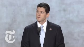 Election 2012 | Paul Ryan's RNC Speech | The New York Times