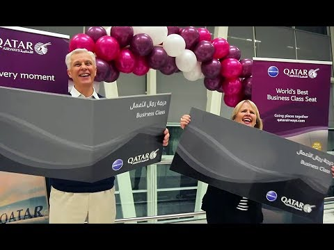 Free Upgrades to Business Class to Celebrate our Adelaide 1st Anniversary - Qatar Airways