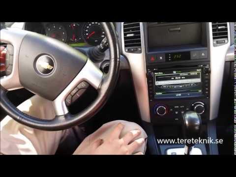 Chevrolet Captiva Bilstereo Installation Gps Youtube
