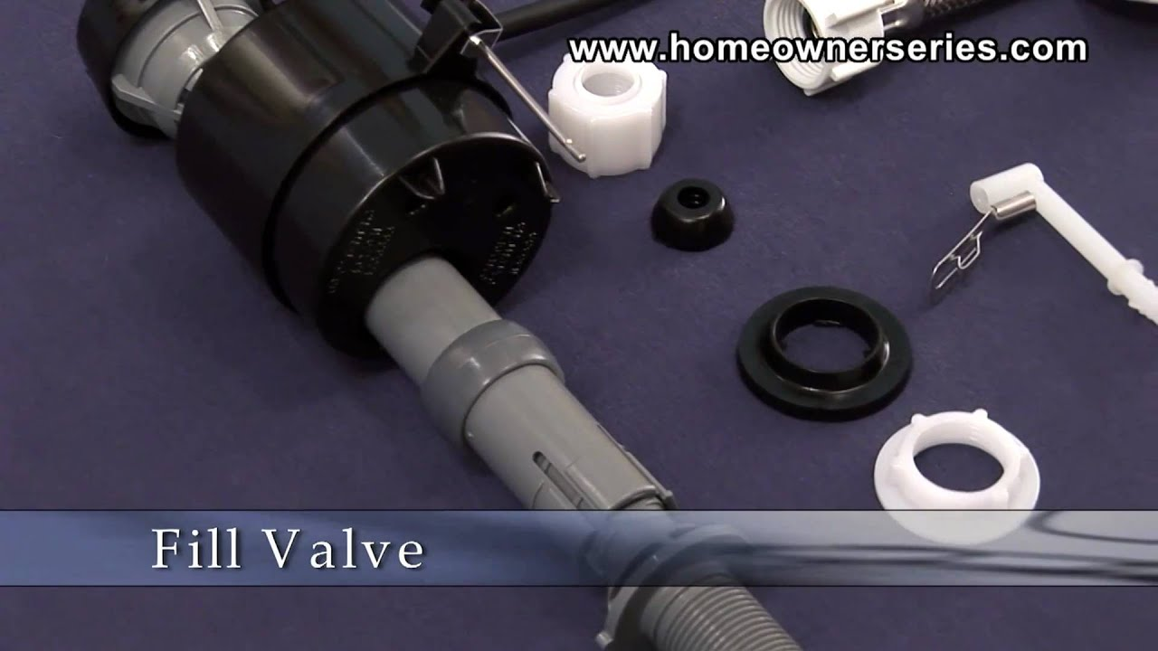 How to Fix a Toilet - Parts - Fill Valve - YouTube