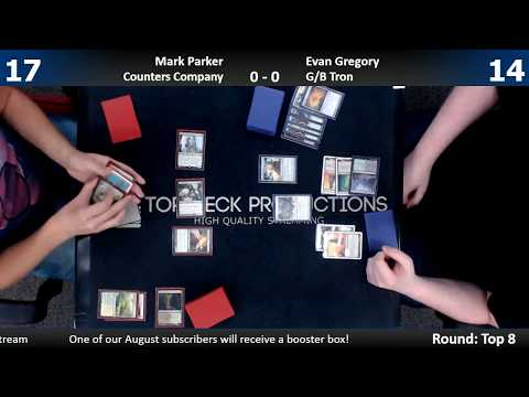Modern IQ Top 8 w/ Comm 8/5/17: Mark Parker (Counters Company) vs. Evan Gregory (G/B Tron)